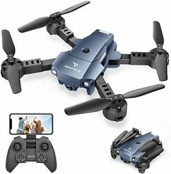 SNAPTAIN A10 WiFi Foldable Drone 720P HD Camera FPV RC Quadcopter Voice Control $28.49