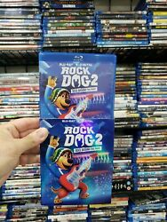 NEVER VIEWED Blu ray of quot;Rock Dog 2: Rock Around the Parkquot; NO DIGITAL COPY $7.95