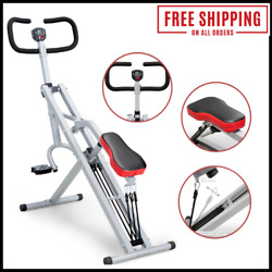 Squat Machine For Glutes Workout Indoor Gym Home Fitness Squatting Exercise $116.50