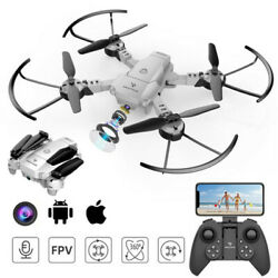 SNAPTAIN A10 Kid WiFi Drone 720P Camera RC Foldable Quadcopter Voice APP Control $29.99