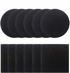 12 Pieces Compost Pail Replacement Filters 6 Round and 6 Square Black ...... $23.20