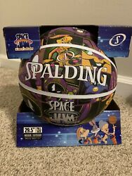 Spalding Space Jam Basketball Full Size Limited Edition $100.00