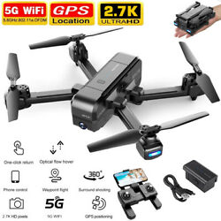 SNAPTAIN SP510 5G 2.7K Camera Foldable GPS WiFi Drone FPV Quadcopter Follow Me $28.99