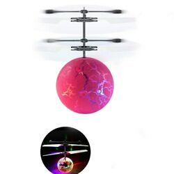 Flying Ball Luminous Hand Remote Control Ball Helicopter Drone Aircraft Toy Kid $7.50
