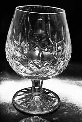ESTATE SIGNED VINTAGE WATERFORD IRELAND LISMORE CRYSTAL 5 1 4quot; BRANDY SNIFTER $39.99