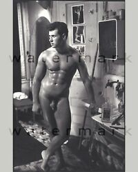 Nude male in Hell#x27;s Kitchen kitchen. 16quot; x 20quot; reprint. Gay interest. $40.00