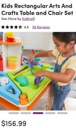 KidKraft Ultimate Creation Activity Art Table with Four Stations amp; Two Stools $88.00