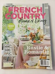 Centennial Living French Country Home amp; Living October 2021 Magazine Rustic $12.99