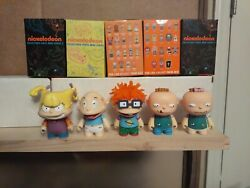 Kidrobot 90s Nickelodeon Rugrats amp; Catdog Lot of 3 Tommy Pickles Chuckie Finster $25.00