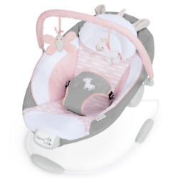 Cradling Bouncer Flora Ultra Plush Seat Baby Infant Vibration Chair New $53.00