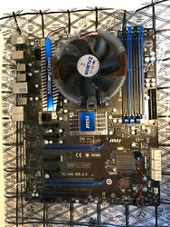 MSI Motherboard 890FXA GD65 MS 7640 Ver 3 DDR3 Military Excellent $99.00