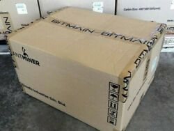 Bitmain Antminer S9 13.5Th ASIC Bitcoin Miner PSU included power cord and eth $750.00