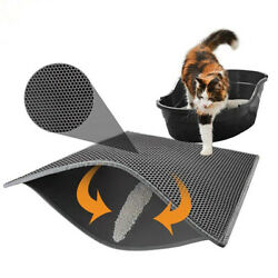Trapping litter box mat is the best cat litter box mat Super Easy to Clean. $26.99
