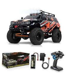 1:10 Scale Large RC Rock Crawler 4WD Off Road RC Cars Remote Red Orange $434.87