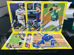 2021 Topps Series 2 Walgreens Yellow Parallels Pick Your Card $0.99