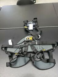 Petzl Avao Bod Croll Fast Harness Black Yellow Size 2 used $305.00