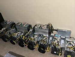 ENDING: Bitmain Antminer S9 S9i with PSU. INCLUDES SETUP CONSULTATION $575.00