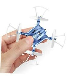 Mini Drones for Kids or Adults RC Drone Helicopter Toy Easy Indoor Small Blue $55.35