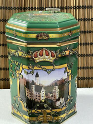 Stieffenhofer European Musical Cookie Tin Made in Germany $15.00