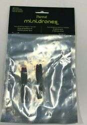 4Pcs Drone Propellers For Parrot Mini Drones Rolling Spider Grey Genuine New $16.00