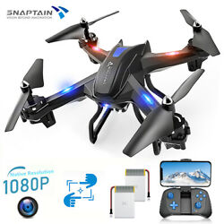 SNAPTAIN S5C RC Drone Wireless WiFi Quadcopter 2K Full HD Camera Voice Control $37.99