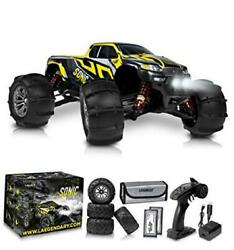 1:16 Brushless Large RC Cars 60 kmh Speed Kids and Adults Black Yellow $276.41