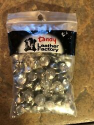 Tandy Clear Crystal Rivets 10mm 100 in pk $12.00