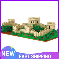 4114Pcs MOC Great Wall Building Toys World Architecture Set Creator Puzzle $80.99