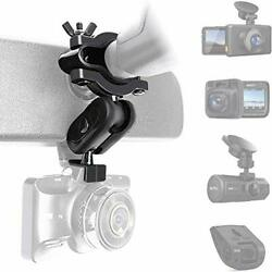 Universal Dash Camera Rear View Mirror Mount Holder Kit for Most Car Camera Gps $15.45
