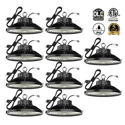 10Pack 150W UFO Led High Bay Light Factory Warehouse Commercial Light Fixtures