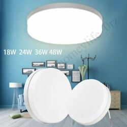48W Bright Round LED Ceiling Down Light Panel Wall Bathroom Kitchen Office Lamp $8.99
