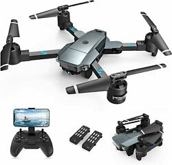 SNAPTAIN A15H Foldable Drone 1080P HD Camera FPV WiFi RC Quadcopter fr Beginners $52.21
