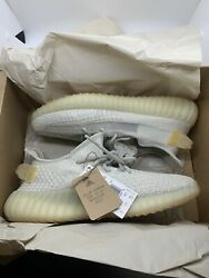 Adidas Yeezy Boost 350 v2 Light size 9 Mens IN HAND SHIPS NOW $259.99