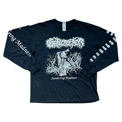 Gatecreeper Sweltering Madness Long Sleeve T Shirt Size Large Mens Closed Casket $30.00