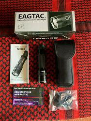 EAGTAC T200C2 1277 LUMEN Tactical Flashlight Kit Edition: Brand New in Box $44.00