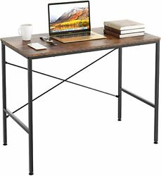 Computer Desk PC Laptop Table Writing Study Table Wood Home Office Furniture $25.99