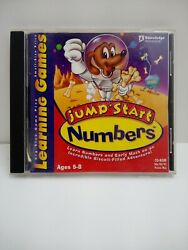 Jump Start Numbers PC Windows 98 95 Math Skills Learning Games EUC Ages 5 8 $8.69