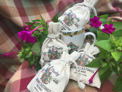 Organic Worm Castings Tea Kit features reuasable and refillable 1 cup pouches $19.75