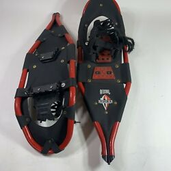 Redfeather REDTAIL Snowshoes Aluminum V tail Red Black Leadville Colorado $73.00