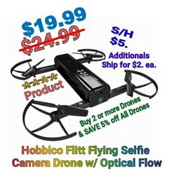 NEW Hobbico Selfie Drone Camera Drone w Optical Flow amp; HD Video Android iOS $24.99