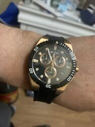 miso ocean star rose gold mens watches new witout tags $250.00