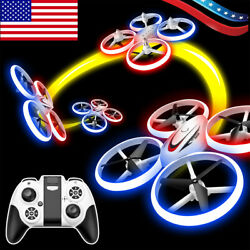 RC Drone Mini Small Light Altitude Hold 2.4Ghz 360° Flips Quadcopter Kids Gift $33.58