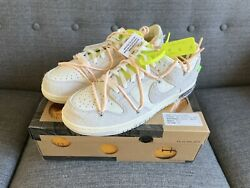 Nike Dunk Low X Off White Lot 12 Of 50 Size 12 DJ0950 100 $475.00