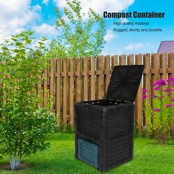 300L large capacity compost container outdoor garden courtyard compost bin $81.98