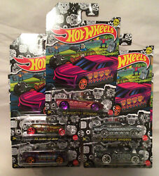 Hot Wheels 2021 Halloween Day Of The Dead Set of 5 Target Exclusive New. $12.99