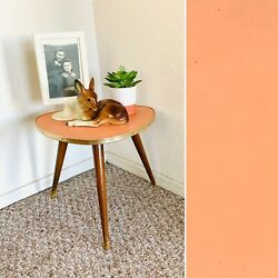 50s Mid Century Plant Stand Table Tripod Side End Table Vintage Atomic $99.00