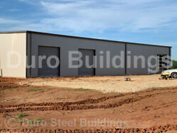 DuroBEAM Steel 50x75x18 Metal Garage Shop Clear Span Commercial Buildings DiRECT