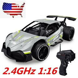 1 16 Electric RC Drift Racing Car with Remote Control High Speed For Kids Gifts $34.11