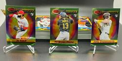 2021 Topps FINEST FLASHBACKS YOU PICK COMPLETE YOUR SET $14.99