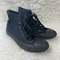 Converse Chuck Taylor All Star Womens Size 6 Lace Up Black Sneaker Shoes $35.00